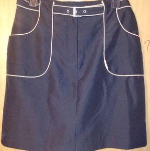 Izod belted skirt on shorts